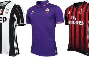 GALLERY - Nuove maglie Serie A 2016/2017