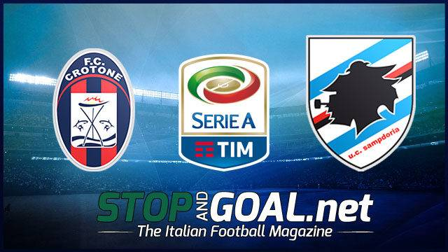 Crotone-Sampdoria 1-1 Video Gol, Highlights e Sintesi