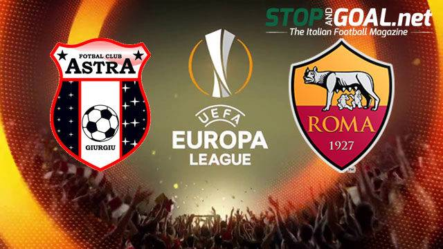 FC Astra - AS Roma Europa League - 8 dicembre 2016